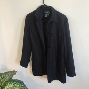 Black Military Style Vintage Ralph Lauren Jacket